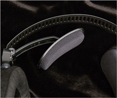ヘッドバンドと3D方式のウイングサポート